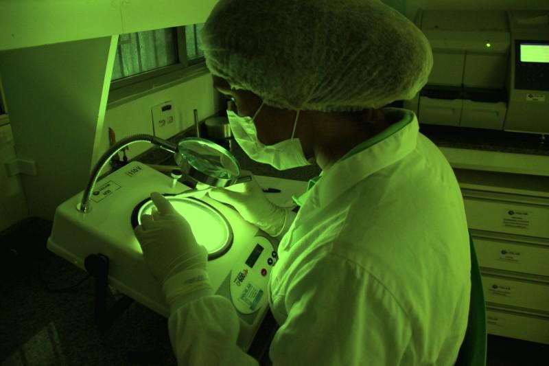 Laboratorio de analises de efluentes